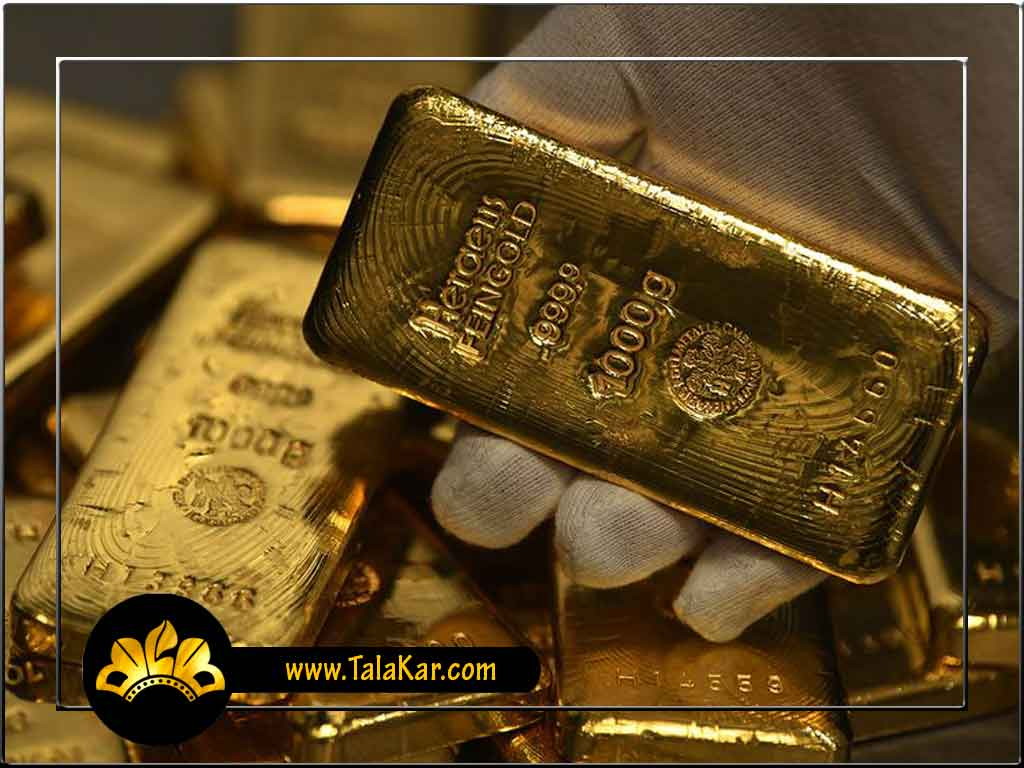یک کیلو شمش طلا