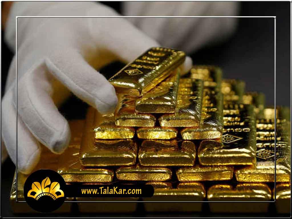 شمش طلا قیمت